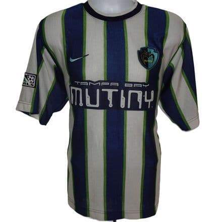 1998 Tampa Bay Mutiny Away Football Shirt, Nike, UK Large / US Medium (VGC)